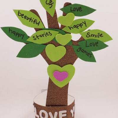 Mother's Day Gift: Loving Hand Tree