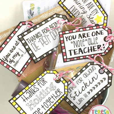 Simple Teacher Appreciation Gifts