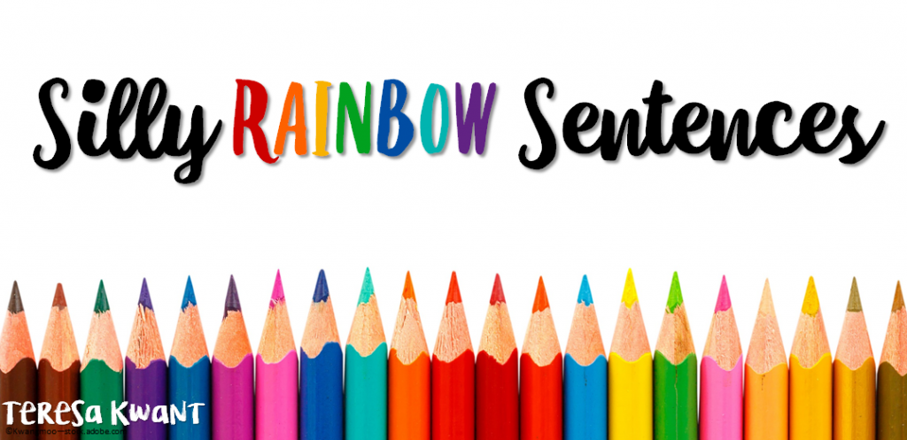 Silly Rainbow Sentences