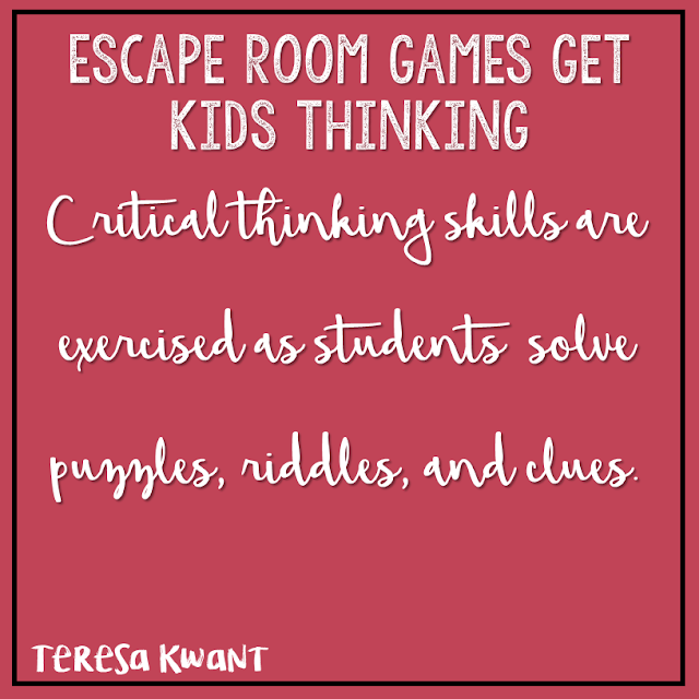 Escape room games are perfect for any elementary classroom. Students try and escape a risky situation in a specified amount of time. My Cracking the Classroom Code games are available for kindergarten, first grade, second grade, third grade, fourth grade, and fifth grade. Math and language arts escape games are available.
