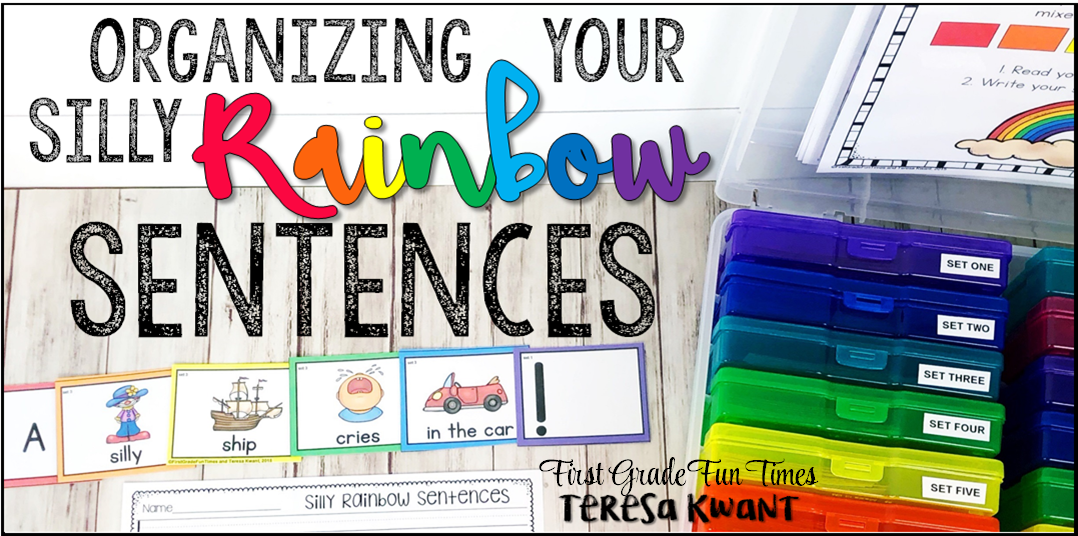 organizing silly rainbow sentences teresa kwant
