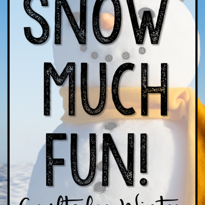 Snow Much Fun! Crafts and Activities for Winter