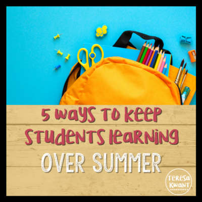 5 Ways to Keep Students Learning Over the Summer