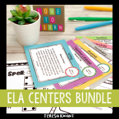 Literacy Centers for Upper Elementary Classrooms