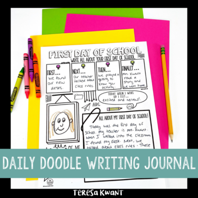 Daily Doodle Writing Journal